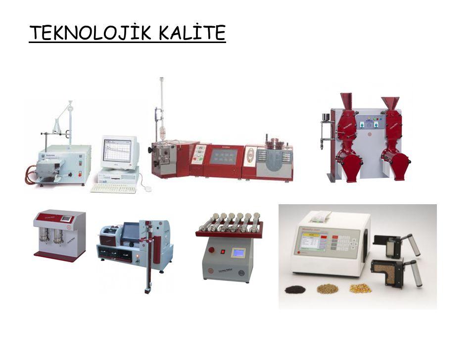 Unda Teknolojik Kalite • Un' un çeşitli ürünlere işlenmesi sırasında üreticinin beklentilerini karşılama düzeyi olarak ifade edilebilir.