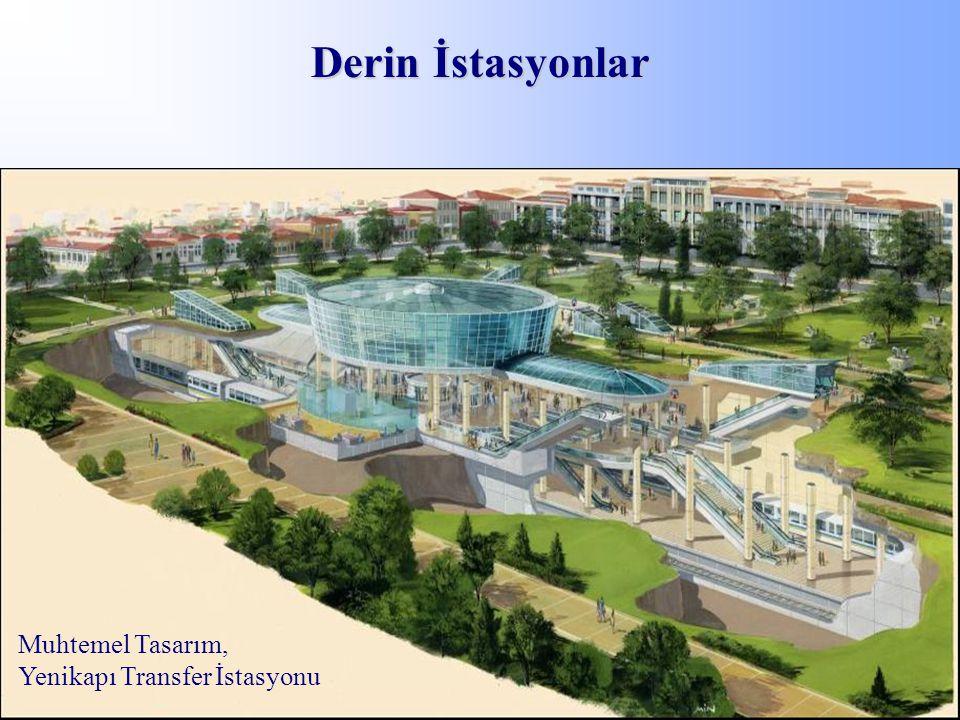 Derin İstasyonlar Muhtemel Tasarım, Yenikapı Transfer İstasyonu