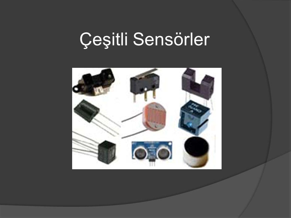 Çeşitli Sensörler