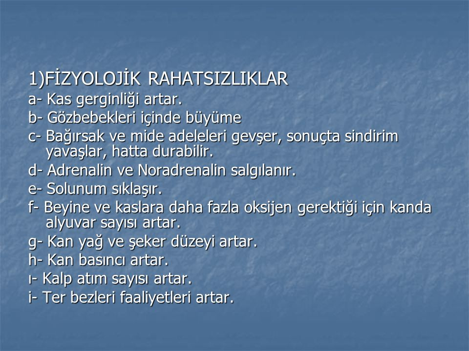  KAYNAKLAR  TAVACIOĞLU, Leyla.(1999). Spor Psikolojisi- Bilişsel Değerlendirmeler .