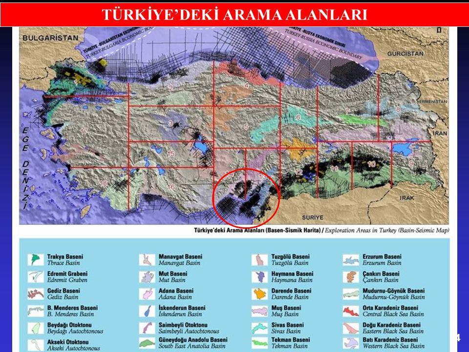 15 Doğu Akdeniz Petrol Alanları MISIR'LA PETROL ANLAŞMASI 2003 yılında Mısır'la Güney Kıbrıs Rum Kesimi arasında, Akdeniz'de petrol aramak için deniz yataklarının paylaşımı konusunda bir anlaşma imzalanmıştır.