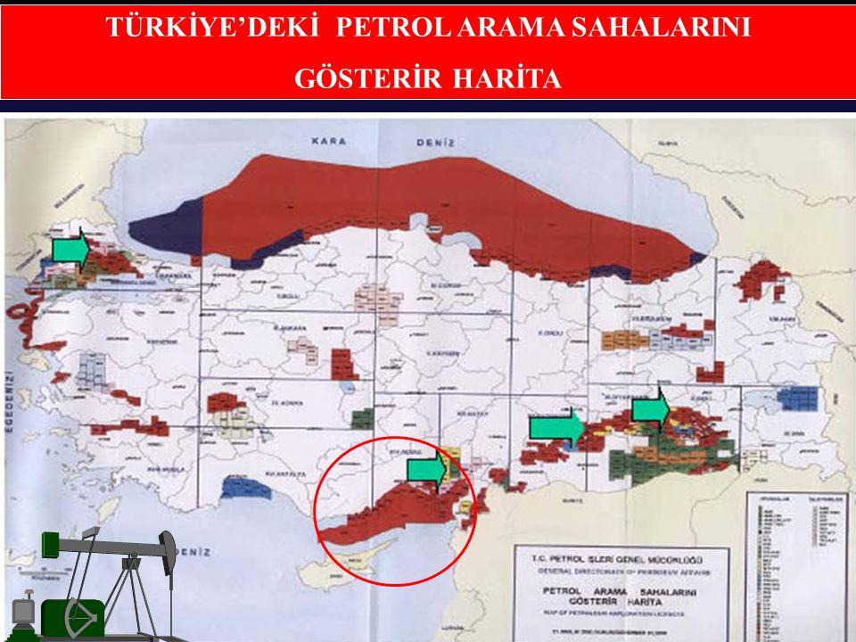 17 Güney Kıbrıs Rum Yönetimi kaynaklarınca basına sızdırılan petrol arama faaliyetleri ile ilgili harita.