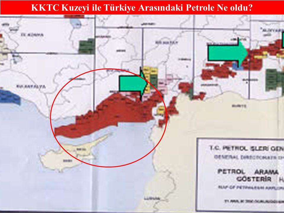 8 Kıbrıs ile Mısır arasında, Ada'dan 50 deniz mili uzaklıkta ve denizin yaklaşık 2 kilometre altında zengin petrol yatakları tespit edildiğini yönündeki iddiaların ciddi olarak araştırılması gerekmektedir.