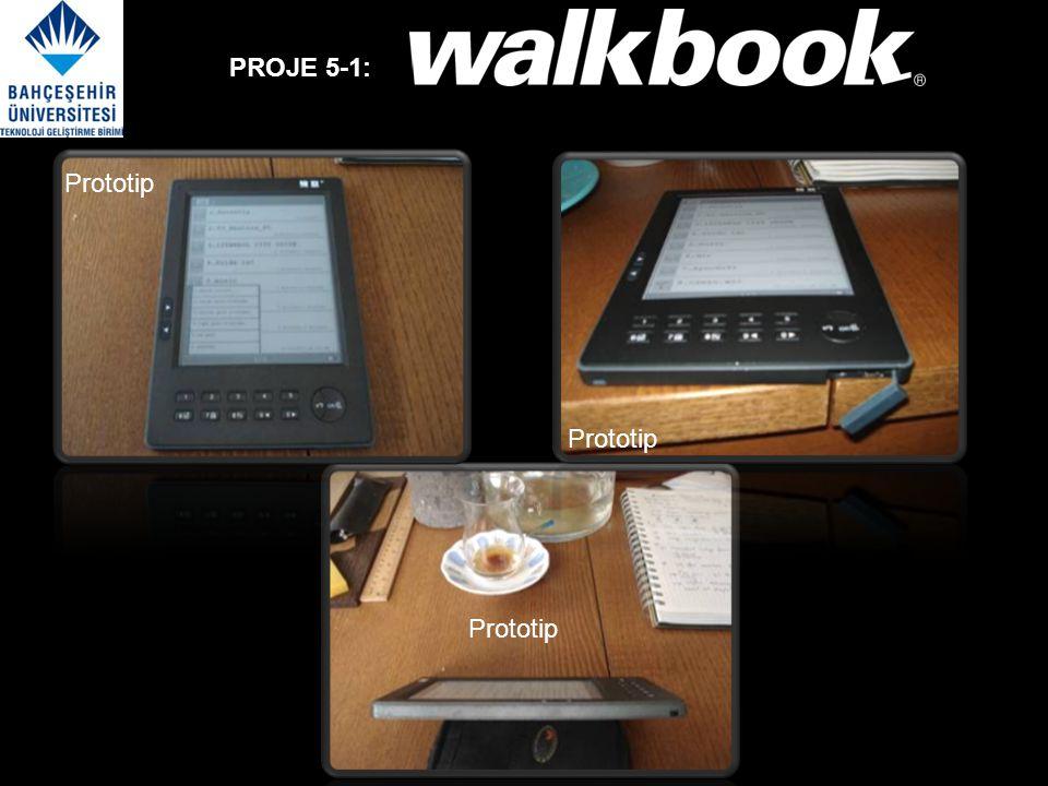 PROJE 5-1: Yeni WalkBook V3 programlanabilir versiyonu ArGe aşamasındadır. Prototip