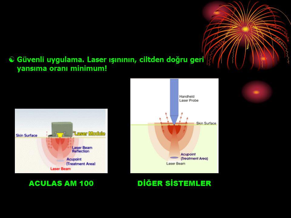  3 Farklı dalga boyu 660 nm.50 mW. x 5 / RED 780 nm.