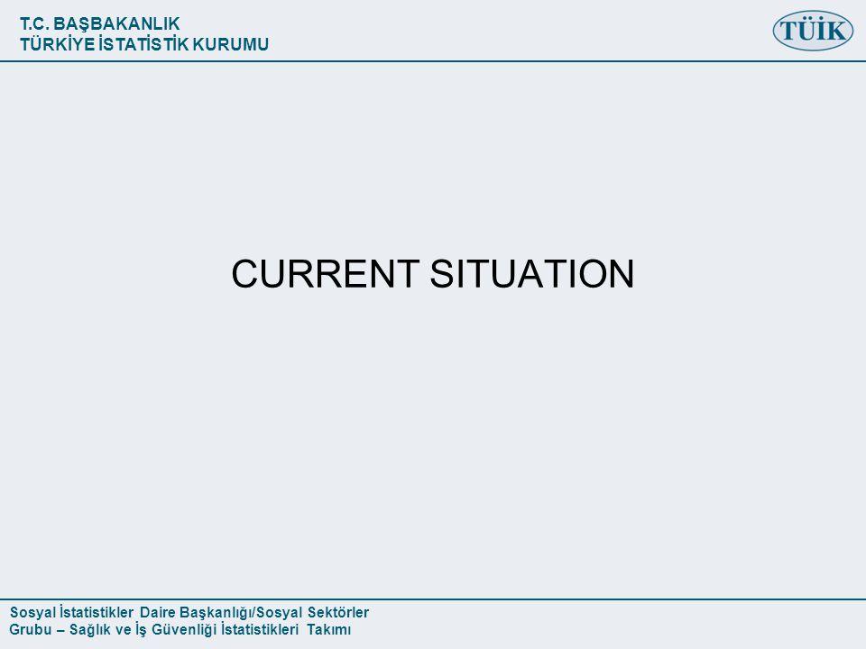 T.C. BAŞBAKANLIK TÜRKİYE İSTATİSTİK KURUMU Sosyal İstatistikler Daire Başkanlığı/Sosyal Sektörler Grubu – Sağlık ve İş Güvenliği İstatistikleri Takımı