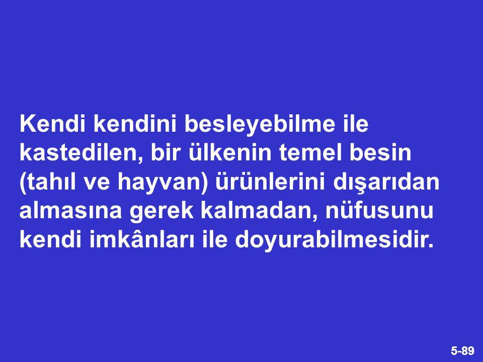 36-89 SÖZ KONUSU HER İKİ ANLAŞMA DA HÂLEN YÜRÜRLÜKTEDİR. Türkiye'de Tarımın Durumu