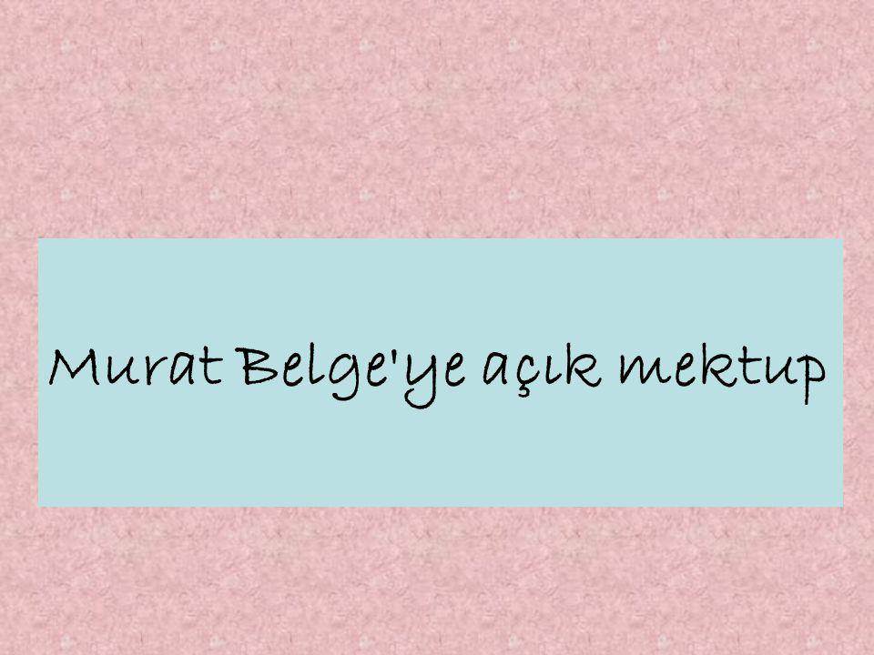 GERÇEK GÜNDEM - HABER MERKEZİ / Bilgi Üniversitesi öğrencileri, AKP yi kayıtsız - şartsız destekleyen hocaları Murat Belge ye tepki gösterdi.