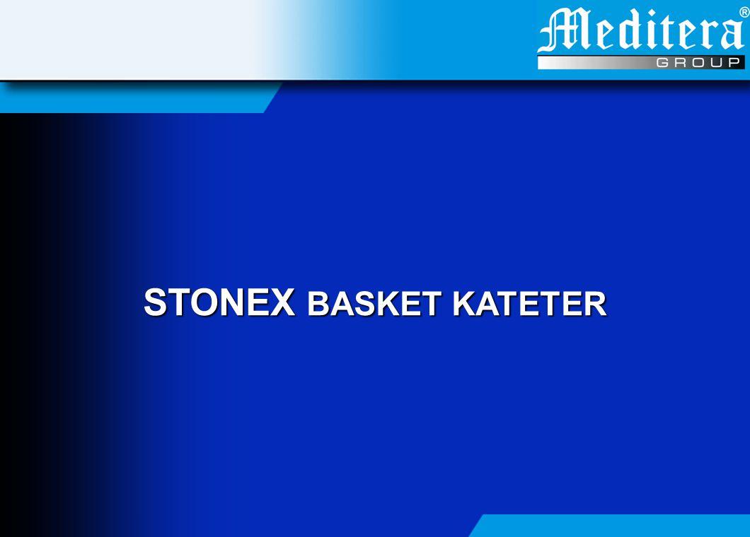Stonex Taş Çıkarıcları (Basket) : Endoskopik Yaklaşım • Basket kapalı bir şekilde üreteroskop'un çalışma kanalına yerleştirilir.