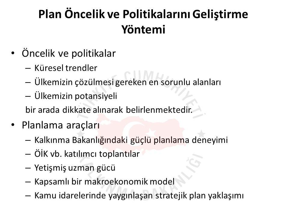 Planın başarısı için siyasi ve toplumsal sahiplenme kritik önem taşımaktadır.