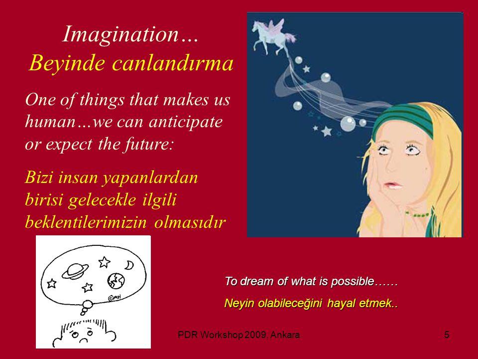 PDR Workshop 2009, Ankara16 Some Fundamental Definitions: Bazı temel kavramlar Mind-Body Connection….