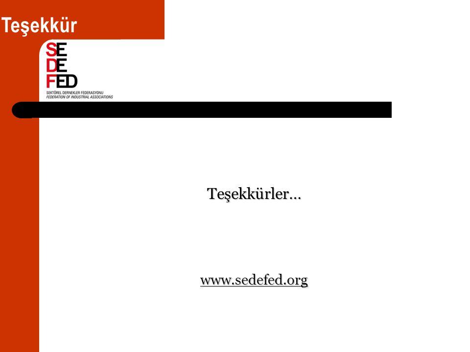 Teşekkürler… www.sedefed.org Teşekkür