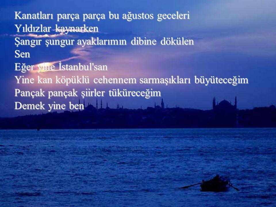 Atilla İLHAN İstanbul ağrısı