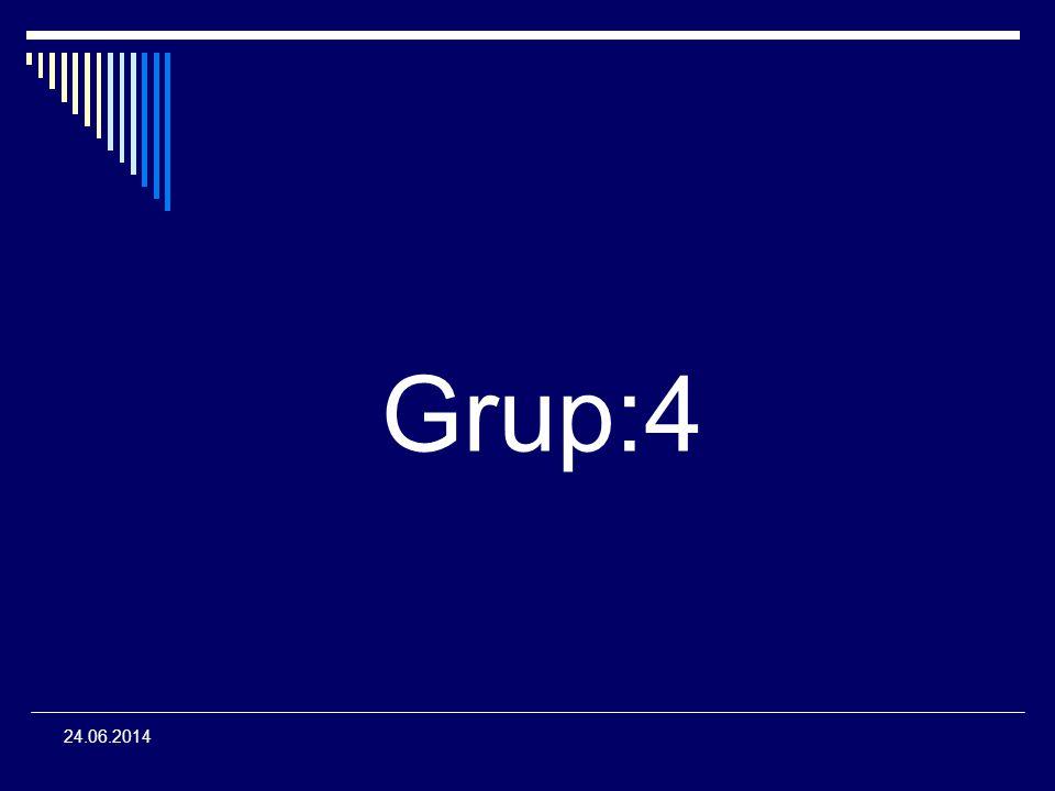 Grup:4 24.06.2014