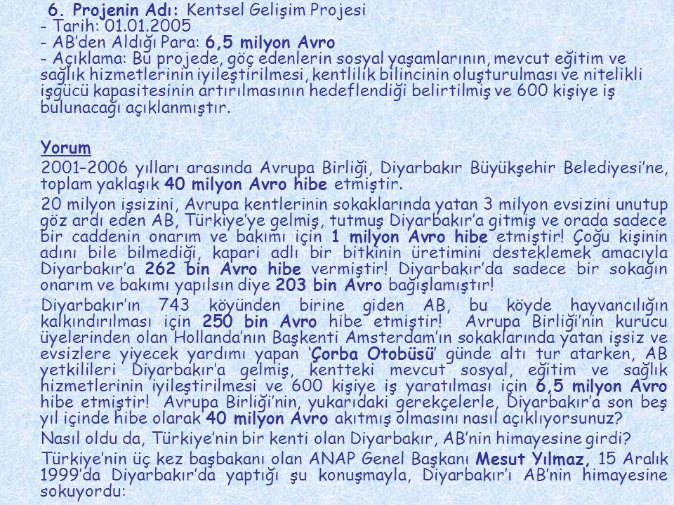 Biz, AB'ye giden yolun Diyarbakır'dan geçtiğine inandığımız için buradayız.