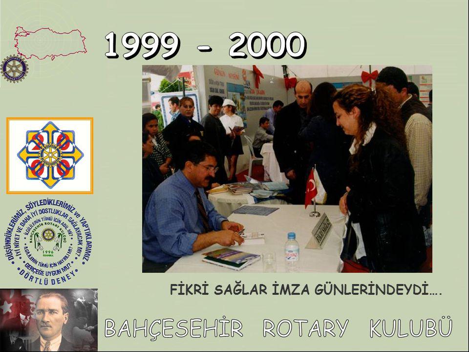 2.BAHÇEŞEHİR KİTAP FUARI VE KÜLTÜR ŞÖLENİ 22 -26.NİSAN.2000