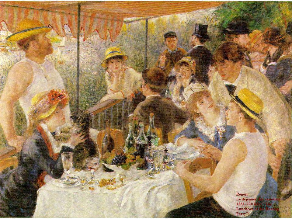Renoir Le déjeuner des canotiers 1881 (220 Kb);