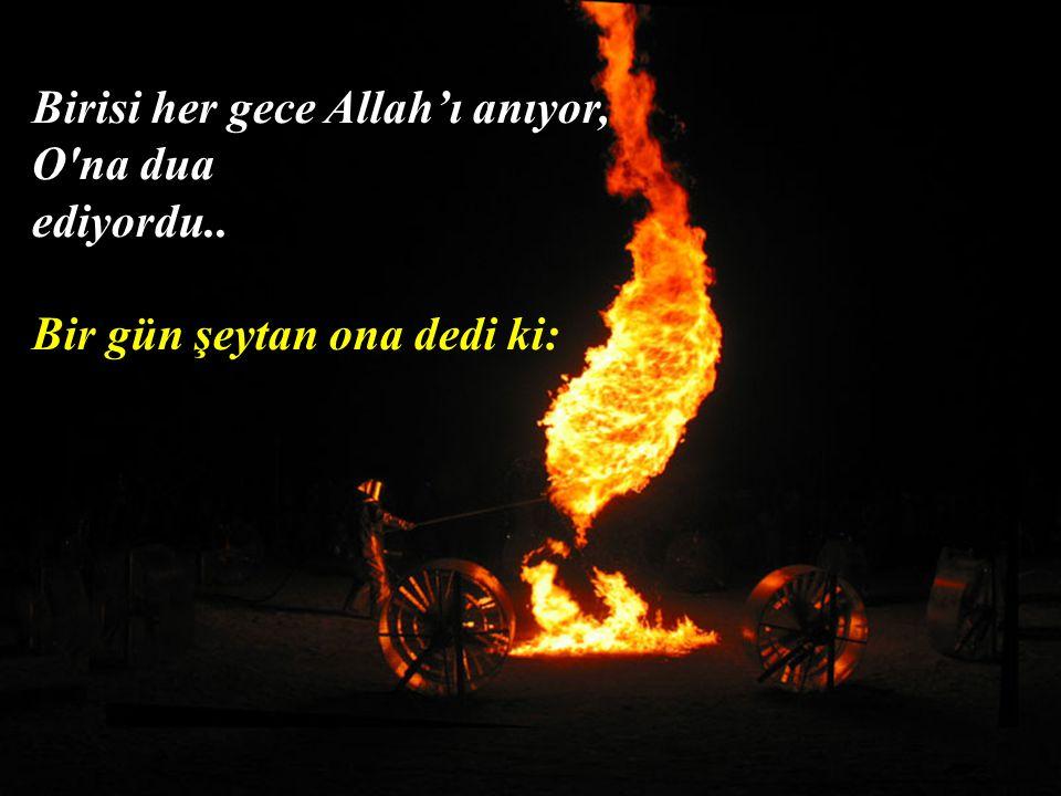 """Dua edenin, """"Rabbim"""" demesi, Allah'ın """"efendim"""" demesinin ta kendisidir..."""