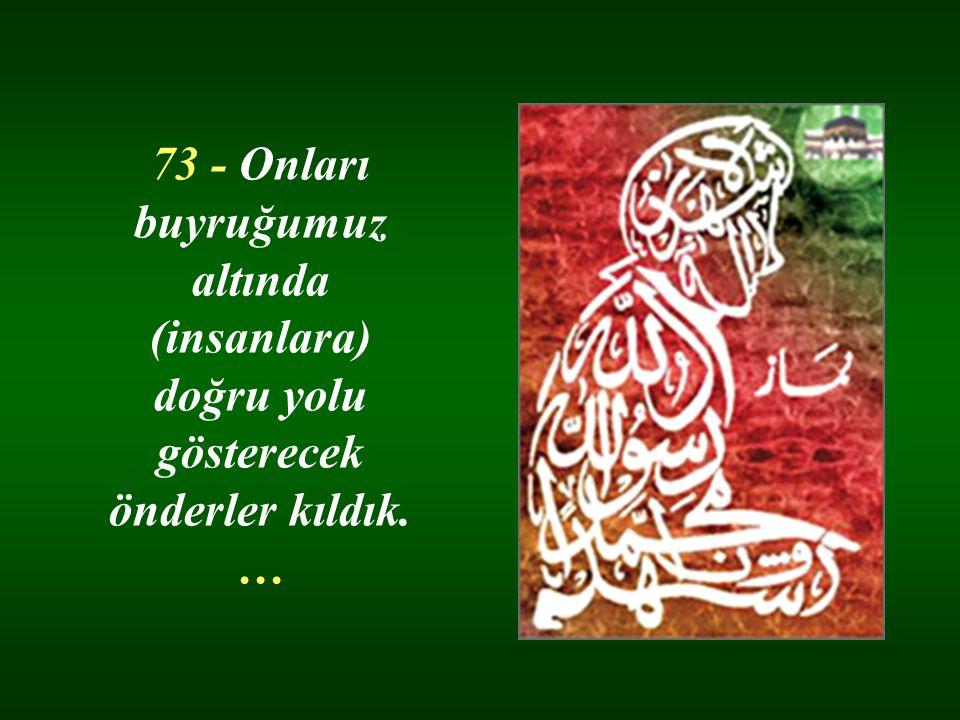 10 - Namaz kılındıktan sonra yeryüzüne dağılın ve Allah ın lütfundan (nasibinizi) arayın.