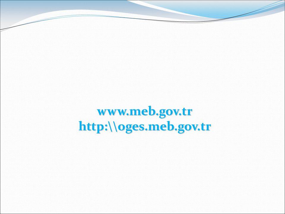 www.meb.gov.trhttp:\\oges.meb.gov.tr