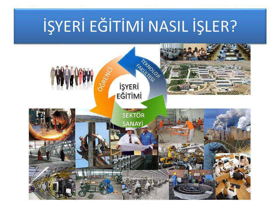 İŞYERİ EĞİTİMİ NASIL İŞLER.