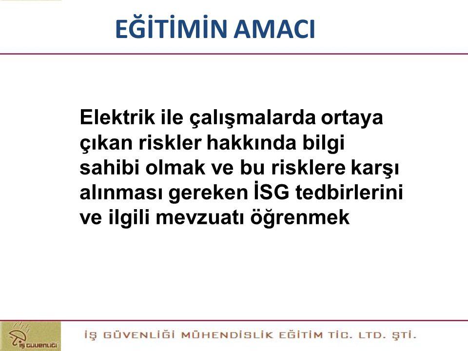 ETANŞ LAMBA: Nemli ve ıslak yerlerdeki elektrik lambaları su damlalarına karşı korunmuş tipte (etanş) yapılmalıdır.