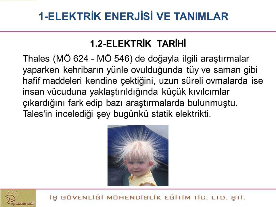 TEDAŞ'DAN BİR TEKNİSYEN 2-ELEKTRİK TESİSLERİNDE GÜVENLİK