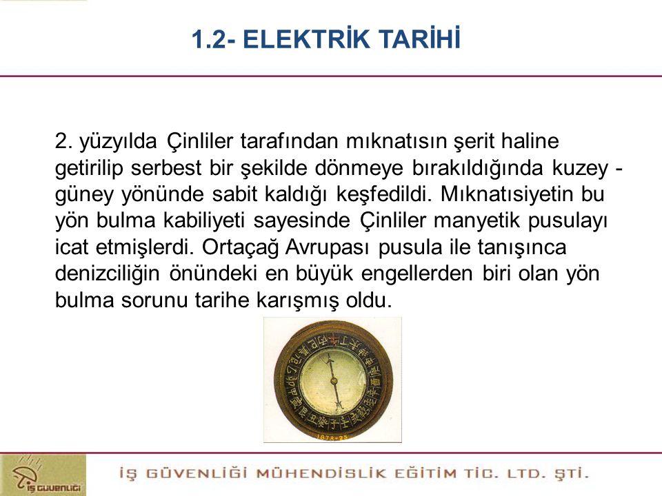 Elektriği ilk olarak ciddi anlamda inceleyen bilim adamı William Gilbert 16.