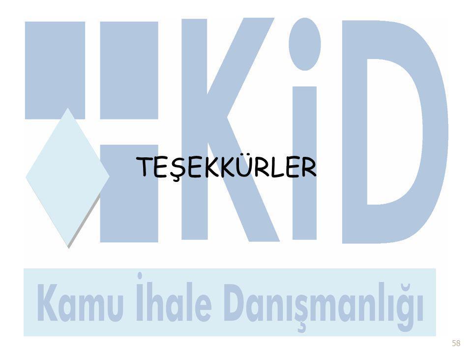 58 TEŞEKKÜRLER