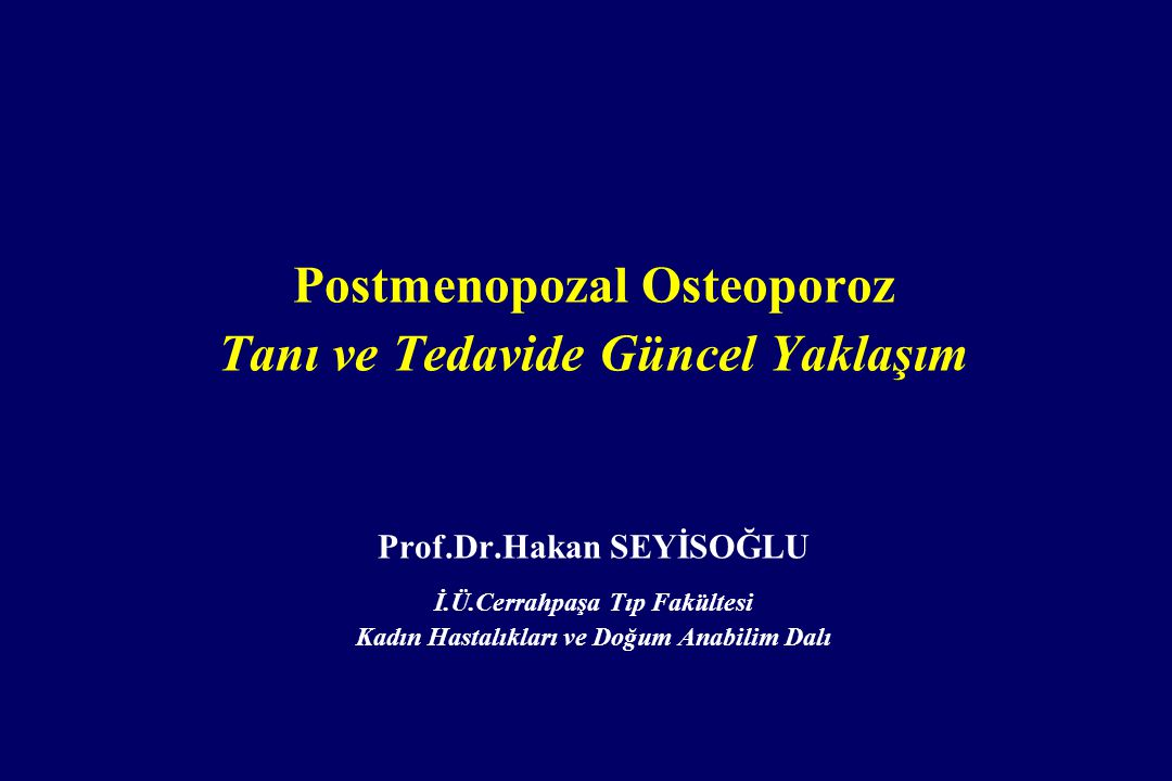 Osteoporozda Mikromimari Normal Osteoporoz from David W. Dempster, PhD. Copyright 2000