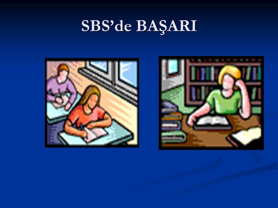 SBS'de BAŞARI