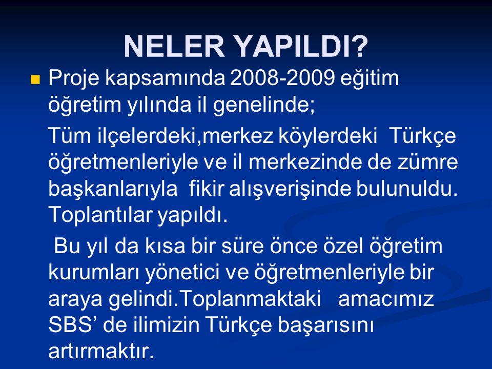  Türkçe programını uygulamada karşılaşılan sorunlar.