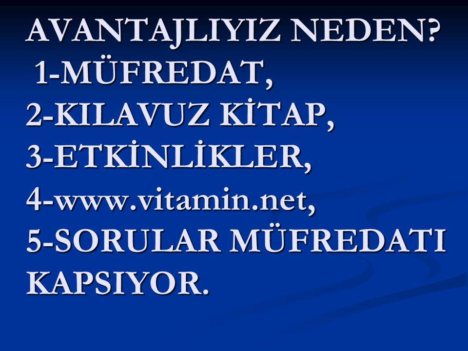 2008/2009 Yılları Türkçe Dersi SBS 6.