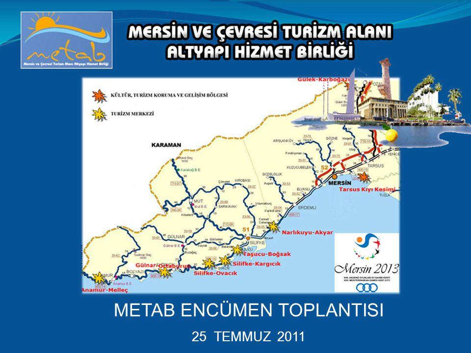 METAB ENCÜMEN TOPLANTISI 25 TEMMUZ 2011