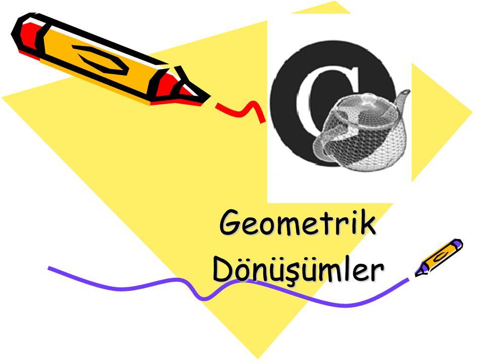 GeometrikDönüşümler
