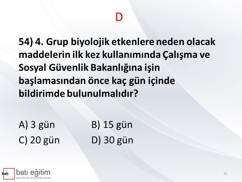 D 54) 4.