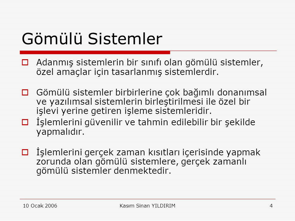 10 Ocak 2006Kasım Sinan YILDIRIM55 Adaptör