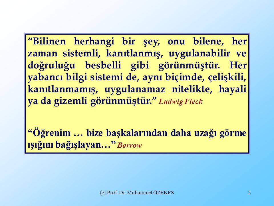 (c) Prof.Dr. Muhammet ÖZEKES13 ARABULUCULUK HAKKINDA YANILGI ve ÖNYARGILAR NELERDİR.