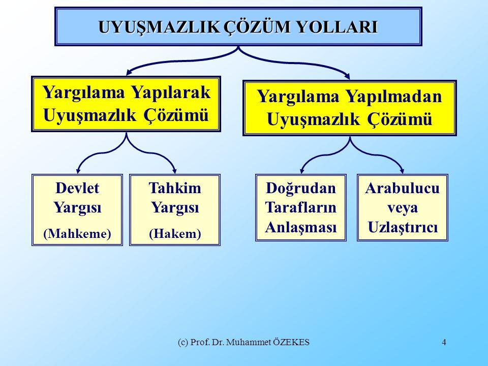 (c) Prof.Dr. Muhammet ÖZEKES15 ARABULUCULUĞA İLİŞKİN YANILGI VE ÖNYARGILAR NASIL GİDERİLEBİLİR.