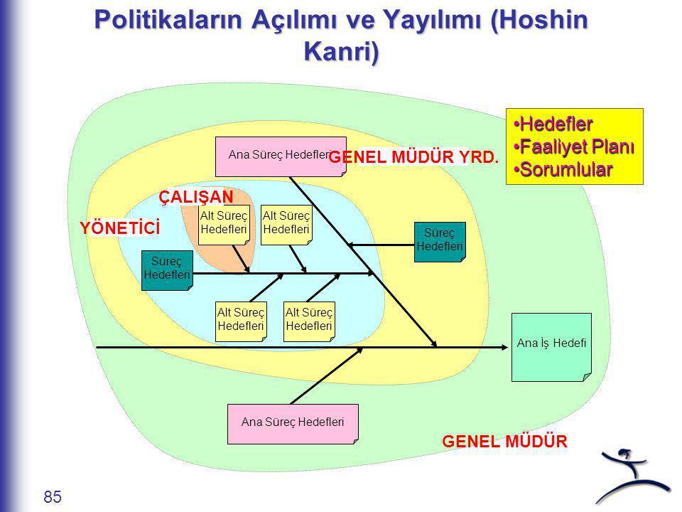 Politika Yönetimi 84 Yalın Enstitü Derneği Politika Planı Strateji Uzun Vadeli Hedef (Öngörü) Yıllık Hedefler
