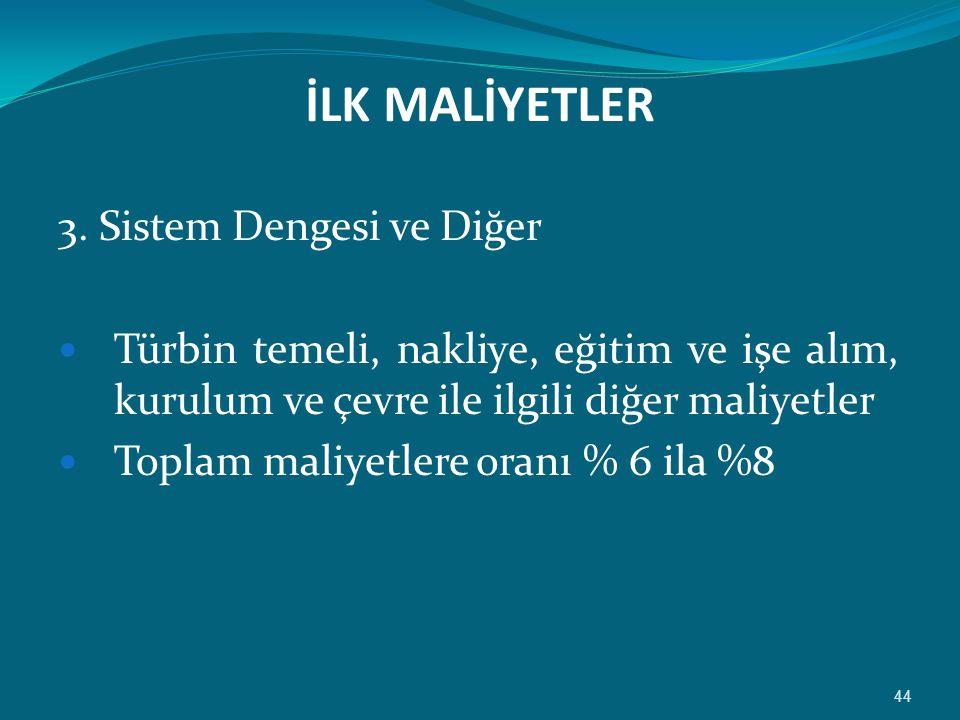 İLK MALİYETLER 3.