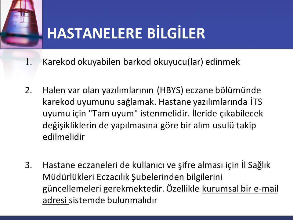 HASTANELERE BİLGİLER 1.