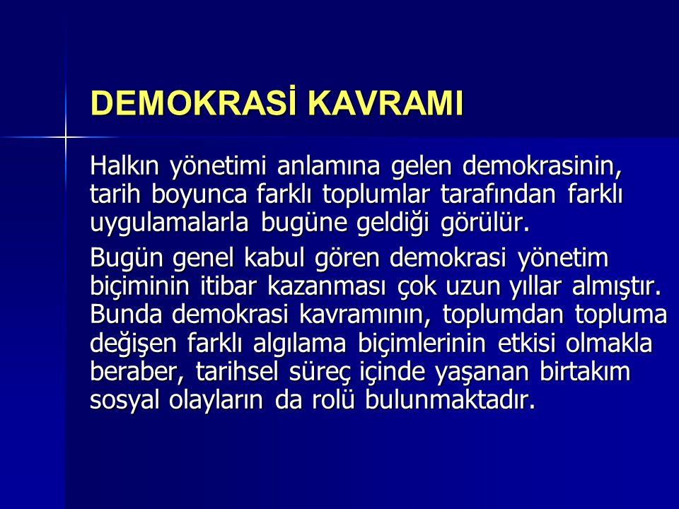 Bu çerçevede AB içinde demokrasiye ilişkin sorunlar başlıca iki noktada toplanabilir;  Demokratik Meşruiyet Sorunu  Demokrasi Açığı Sorunu 1.