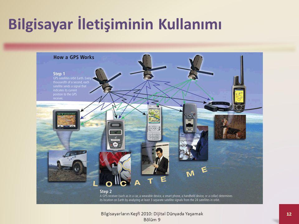 Bilgisayar İletişiminin Kullanımı Bilgisayarların Keşfi 2010: Dijital Dünyada Yaşamak Bölüm 9 12