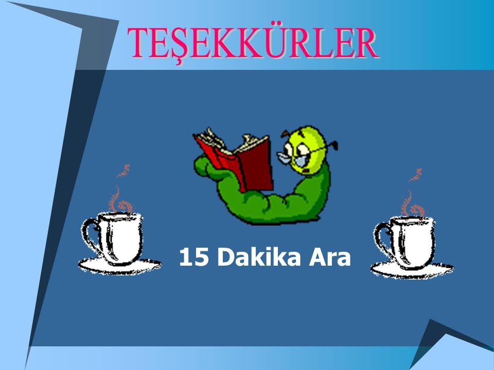15 Dakika Ara