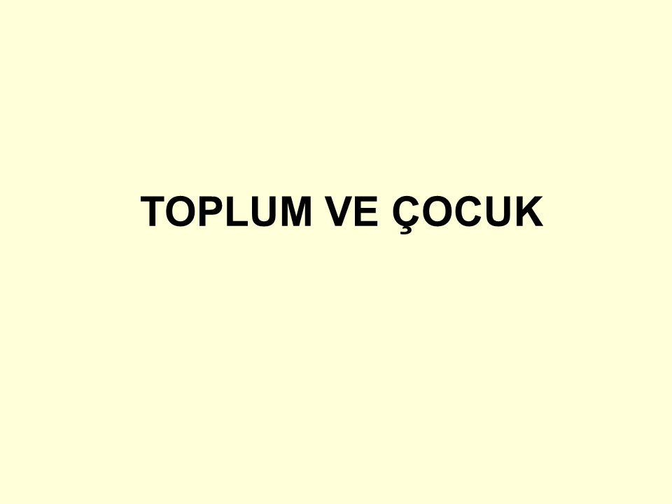 •Yerel Çocuk Sorunları •Türkiye'de her bir bölgenin sosyo-ekonomik ve kültürel yapısına özgü çocuk sorunlarına rastlanmaktadır.