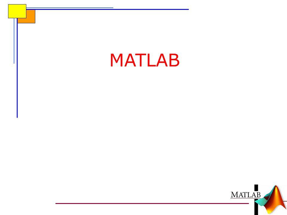 MATLAB'DE PROGRAMLAMA MATLAB'de programlama genel olarak iki yolla yapılır:  Komut satırında (inline) programlama  m-dosyaları ile (m-files) programlama o Düzyazı (script) m-dosyaları ile programlama o Fonksiyon (function) m-dosyaları ile programlama m-dosyaları oluşturabilmek için ise bir metin düzenleyicisine (editor) ihtiyaç vardır.
