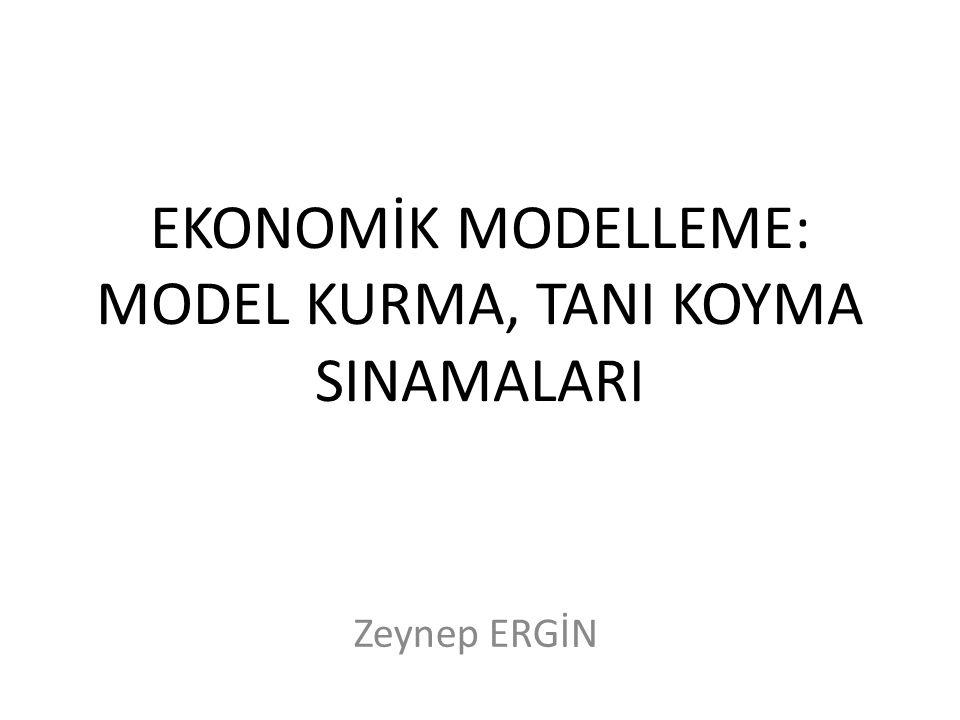 Model kurma hatasının doğuracağı sonuçlar; 1. yanlış modelin anakütle katsayısının SEK tahminlerinin hepsi hem sapkısız hem tutarlıdır.
