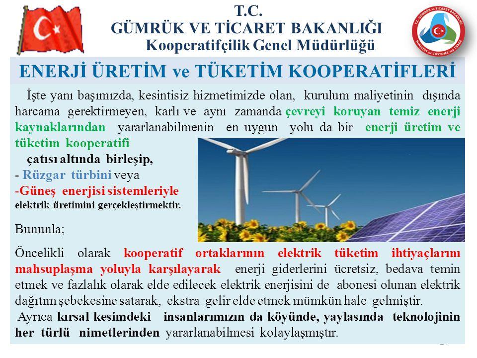 24 ENERJİ ÜRETİM ve TÜKETİM KOOPERATİFLERİ T.C.
