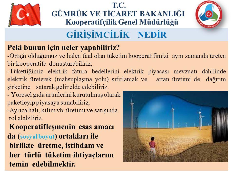 18 ENERJİ ÜRETİM ve TÜKETİM KOOPERATİFLERİ T.C.